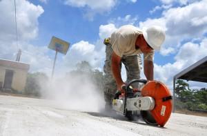 מדריך בנושא ניסור בטון